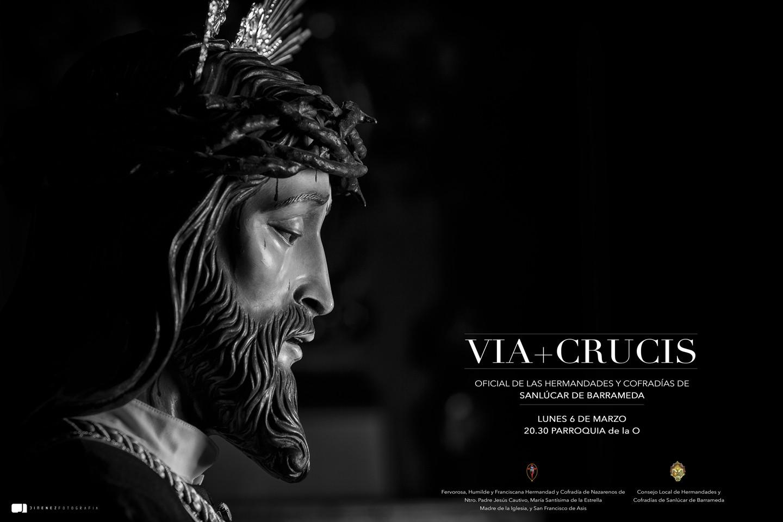 Cartel cautivo Via+Crucis